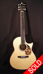 Morgan Guitars - Morgan Concert Cutaway - Mahogany (used)