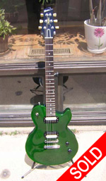 Robin Avalon Guitars - Robin Avalon Green